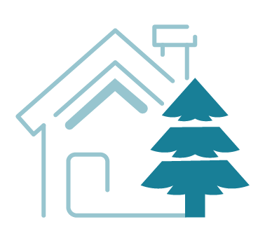 Ground Stability and trees icon
